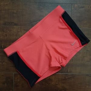 Nike Tempo Boy Shorts Dri-Fit Coral Size Small
